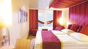AIDA Cruises-AIDAblu-AIDAmar-AIDAsol-AIDAstella-AIDA-Blu-Mar-Sol-Stella-schip-Cruiseschip-Categorie BP-Panorama Balkonhut