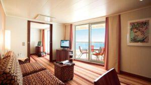AIDA Cruises-AIDAblu-AIDAmar-AIDAsol-AIDAstella-AIDA-Blu-Mar-Sol-Stella-schip-Cruiseschip-Categorie-SB-Premium Suite Prive zonnedek