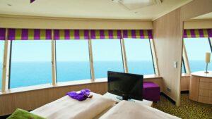 AIDA Cruises-AIDAblu-AIDAmar-AIDAsol-AIDAstella-AIDA-Blu-Mar-Sol-Stella-schip-Cruiseschip SX-Panorama Deluxe Suite met Prive Zonnedek