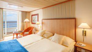 AIDA Cruises-AIDAcara-AIDA-Cara-schip-Cruiseschip-Categorie BA-BV-Balkonhut