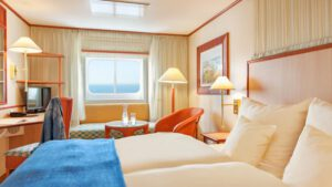 AIDA Cruises-AIDAcara-AIDA-Cara-schip-Cruiseschip-Categorie MA-MB-CA-MV-Buitenhut
