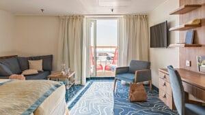 AIDA Cruises-AIDAcara-AIDA-Cara-schip-Cruiseschip-Categorie SD-Junior Suite met Balkon