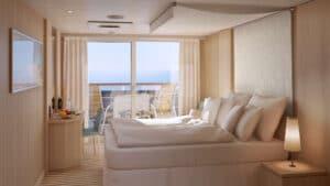 AIDA Cruises-AIDAmira-AIDA-Mira-schip-Cruiseschip-Categorie BA-BV-Balkonhut