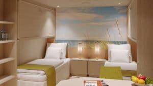 AIDA Cruises-AIDAmira-AIDA-Mira-schip-Cruiseschip-Categorie IB-IA-IV-Binnenhut