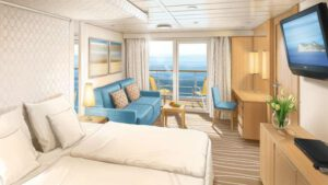 AIDA Cruises-AIDAmira-AIDA-Mira-schip-Cruiseschip-Categorie JB-JA-Junior-suite met balkon