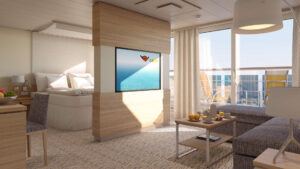 AIDA Cruises-AIDAmira-AIDA-Mira-schip-Cruiseschip-Categorie SA-Deluxe-suite met prive Zonnedek