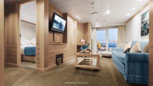 AIDA Cruises-AIDAmira-AIDA-Mira-schip-Cruiseschip-Categorie SB-Premium-Suite