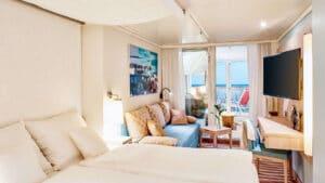 AIDA Cruises-AIDAnova-AIDACosma-AIDA-Nova-Cosma-schip-Cruiseschip-Categorie JA-JB-Junior Suite-Junior Suite met Lounge