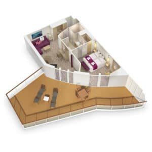 AIDA Cruises-AIDAnova-AIDACosma-AIDA-Nova-Cosma-schip-Cruiseschip-Categorie SB-SC-Suite-diagram