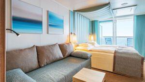 AIDA Cruises-AIDAperla-AIDAprima-AIDA-Perla-Prima-schip-Cruiseschip-Categorie DL-Deluxe Balkonhut met Lounge