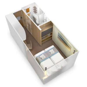 AIDA Cruises-AIDAperla-AIDAprima-AIDA-Perla-Prima-schip-Cruiseschip-Categorie IB-IA-IV-Binnenhut-diagram