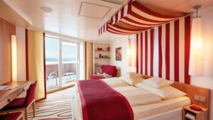 AIDA Cruises-AIDAperla-AIDAprima-AIDA-Perla-Prima-schip-Cruiseschip-Categorie VF-VC-VD-VA-VE-VB-KV-Comfort Balkonhut