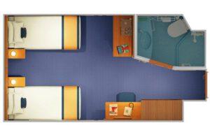Carnival-cruise-line-Carnival-Horizon-Carnival-Vista-schip-cruiseschip-categorie 4a-4b-4c-4d-4e-4f-4g-4h-4i-binnenhut-diagram