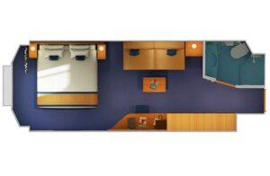 Carnival-cruise-line-Carnival-Horizon-Carnival-Vista-schip-cruiseschip-categorie 6M-6L-deluxe-buitenhut-diagram