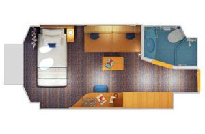Carnival-cruise-line-Carnival-Horizon-Carnival-Vista-schip-cruiseschip-categorie PT-binnenhut-Patrijspoort-diagram