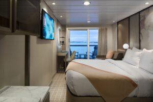 Celebrity Cruises-Celebrity-Constellation-Infinity-Millennium-Summit-schip-Cruiseschip-Categorie 2A-2B-2C-balkonhut