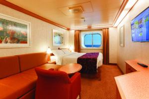Costa Cruises-Costa Diadema-schip-Cruiseschip-Categorie EP-EC-EV-Buitenhut