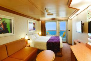 Costa Cruises-Costa Diadema-schip-Cruiseschip-Categorie SB-BP-Balkonhut