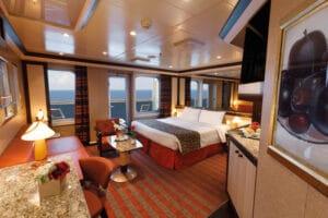 Costa Cruises-Costa Fascinosa-Costa Favolosa-Costa Cruises-schip-Cruiseschip-Categorie S-SV -Suite