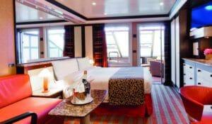 Costa Cruises-Costa Fascinosa-Costa Favolosa-Costa Cruises-schip-Cruiseschip-Categorie SG-Samsara Grand Suite met balkon