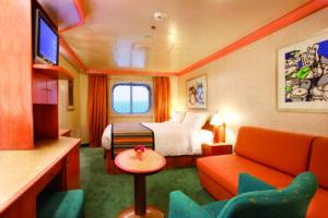 Costa Cruises-Costa Pacifica-Costa Serena-schip-Cruiseschip-Categorie EP-EC-EV-Buitenhut