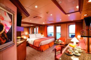 Costa Cruises-Costa Pacifica-Costa Serena-schip-Cruiseschip-Categorie S-Suite