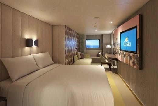 Costa Cruises-Costa Smeralda-Costa Toscana-schip-Cruiseschip-Categorie EP-EC-EV-Buitenhut