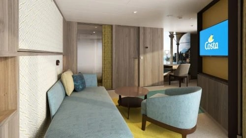 Costa Cruises-Costa Smeralda-Costa Toscana-schip-Cruiseschip-Categorie GS-Grand Suite