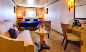 Cunard-Queen Mary 2-schip-Cruiseschip-Categorie EF-Buitenhut