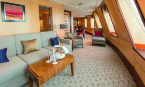 Cunard-Queen Mary 2-schip-Cruiseschip-Categorie Q3-Royal Suite