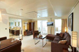 Hapag Lloyd-MS Europa 2-schip-Cruiseschip-Categorie 10-grand penthouse suite