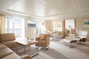 Hapag Lloyd-MS Europa 2-schip-Cruiseschip-Categorie 11-owner suite