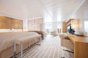 Hapag Lloyd-MS Europa 2-schip-Cruiseschip-Categorie 8-9-13-penthouse suite