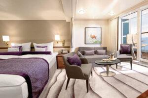 Hapag Lloyd-MS Europa-schip-Cruiseschip-Categorie 4-5-6-7-veranda suite
