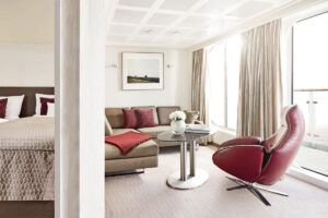 Hapag Lloyd-MS Europa-schip-Cruiseschip-Categorie 8-penthouse deluxe suite