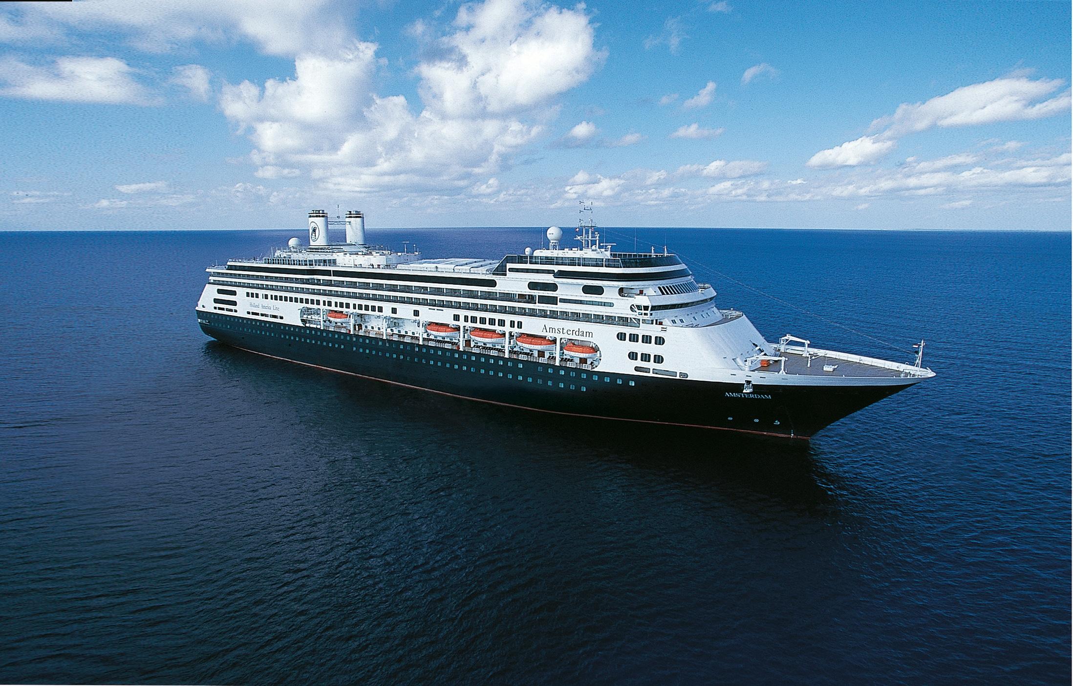 Holland-America-Line-Amsterdam-Cruiseschip