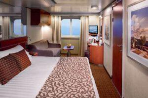 Holland America Line-Eurodam-Nieuw Amsterdam-schip-Cruiseschip-Categorie C-D-DD-E-F-G-H-HH-Buitenhut