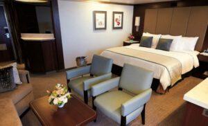 Holland America Line-Eurodam-Nieuw Amsterdam-schip-Cruiseschip-Categorie SA-SB- SC-Neptune Suite