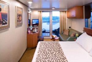 Holland America Line-Eurodam-Nieuw Amsterdam-schip-Cruiseschip-Categorie V-VA-VB-VC-VD-VE-VF-balkonhut