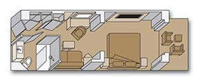 Holland America Line-Koningsdam-Nieuw Statendam-Rotterdam-schip-Cruiseschip-Categorie AS-A-B-BC-Vista Suite-diagram