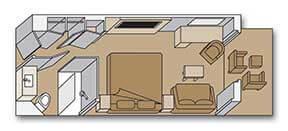 Holland America Line-Koningsdam-Nieuw Statendam-Rotterdam-schip-Cruiseschip-Categorie VS-V-VA-VB-VC-VE-VF-VH-VQ-Spa-balkonhut-diagram