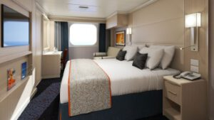 Holland America Line-Koningsdam-Nieuw Statendam-schip-Cruiseschip-Categorie C-D-E-F-buitenhut