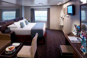 Holland America Line-Koningsdam-Nieuw Statendam-schip-Cruiseschip-Categorie CQ-Spa Buitenhut