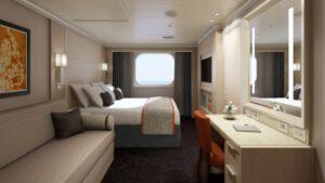 Holland America Line-Koningsdam-Nieuw Statendam-schip-Cruiseschip-Categorie FA-FB-familie buitenhut