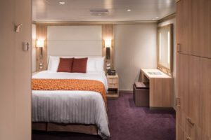 Holland America Line-Koningsdam-Nieuw Statendam-schip-Cruiseschip-Categorie I-J-K-L-N-Binnenhut