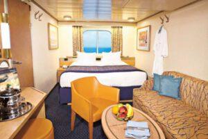 Holland America Line-Noordam-Oosterdam-Westerdam-Zuiderdam-schip-Cruiseschip-Categorie C-D-DD-E-F-G-H-HH-buitenhut