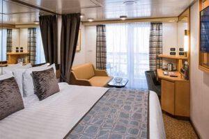 Holland America Line-Noordam-Oosterdam-Westerdam-Zuiderdam-schip-Cruiseschip-Categorie VA-VB-VC-VE-VH-balkonhut