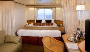 Holland America Line-Volendam-Zaandam-schip-Cruiseschip-Categorie C-D-DA-DD-E-EE-F-FF-G-H-HH-buitenhut