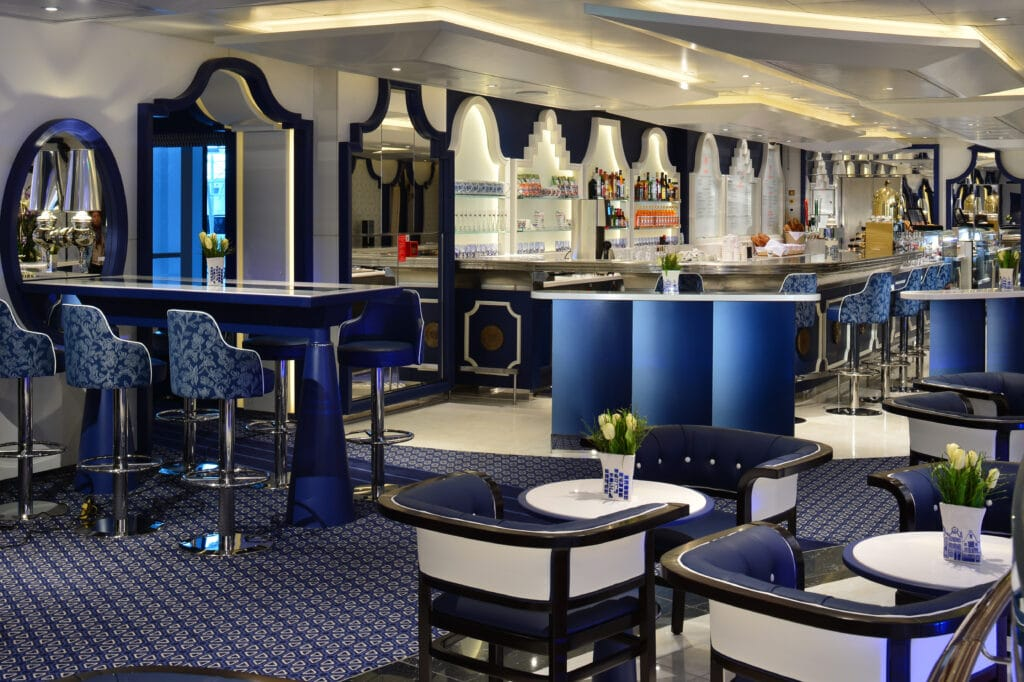 cruiseschip - Holland America Line - Nieuw Statendam - Grand Dutch Cafe