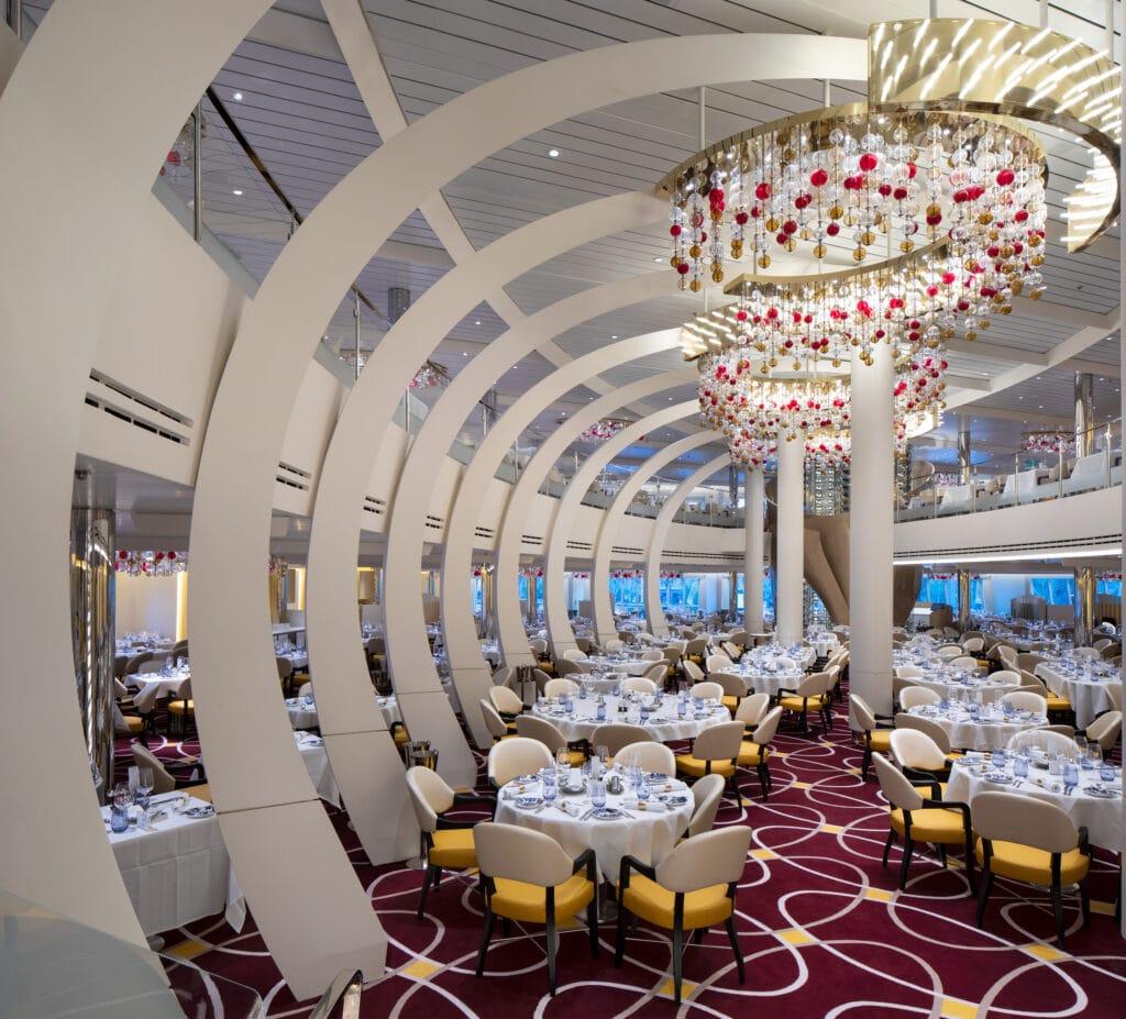 cruiseschip - Holland America Line - Nieuw Statendam - Main Dining Room Restaurant